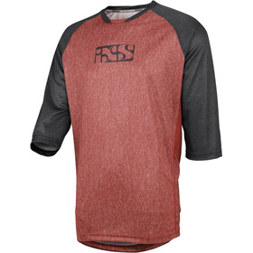 IXS Vibe 8.2 Jersey Herre night red-black